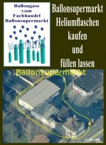Ballonsupermarkt: Heliumflaschen kaufen und füllen lassen